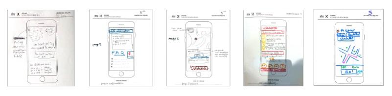 EBG Digital Innovation propositions atelier UX