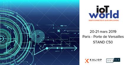 Kaliop à l'IoT World 2019