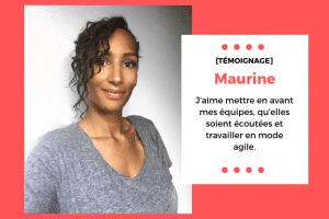 Maurine, Cheffe de projet