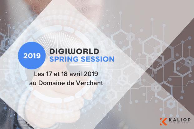 Kaliop au Digiworld Spring Session 2019