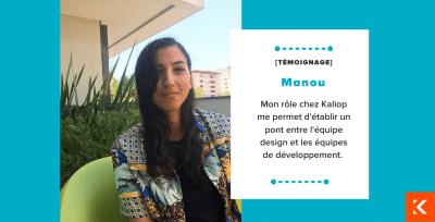 Interview Manou Front-end UX Designer