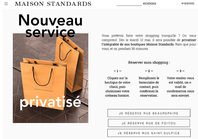 Privatisation magasin