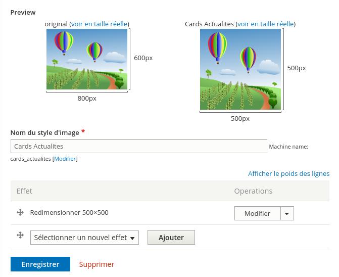 Optimisation des images sur Drupal