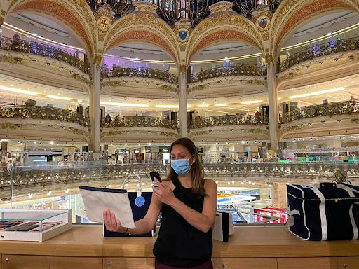 Le service de personal shopper des Galeries Lafayettes