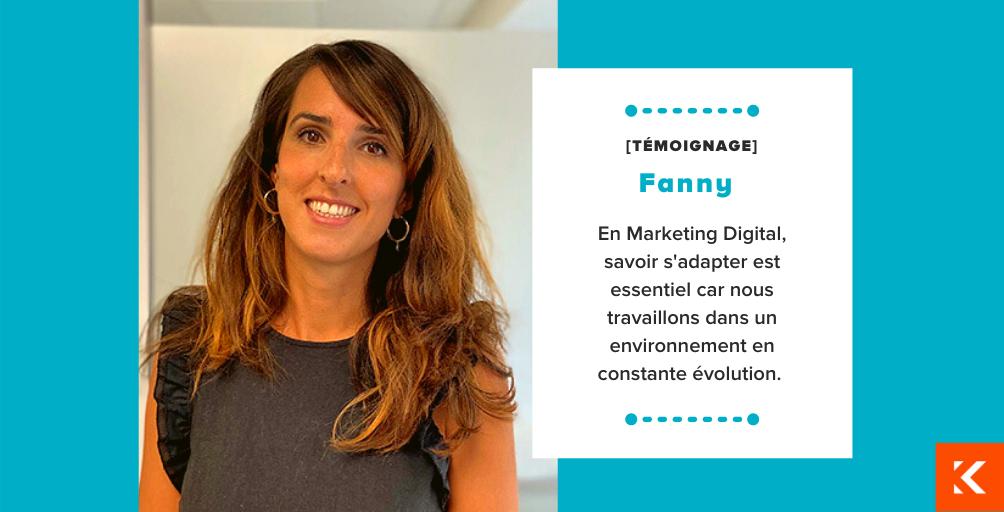 A la rencontre de Fanny, Directrice Marketing Digital