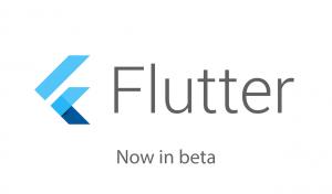 Logo Flutter bêta 1