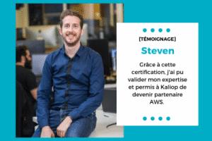 Steven, certifié AWS