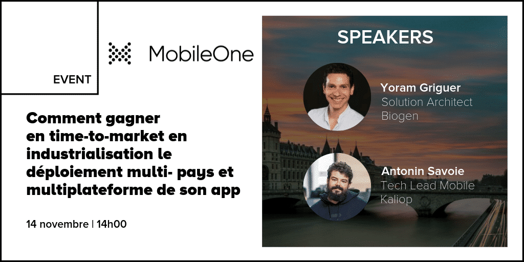 MobileOne Conférence Kaliop