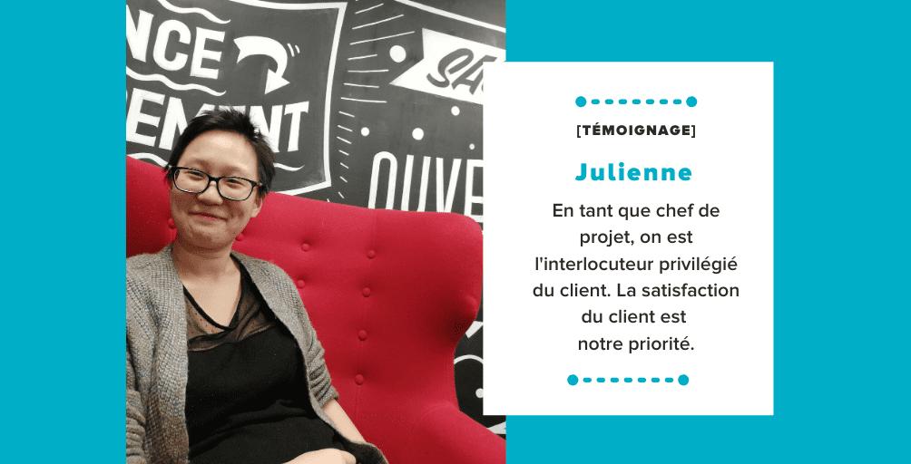 Témoignage Julienne