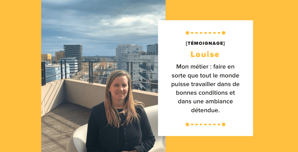 Témoignage Louise Office Manager
