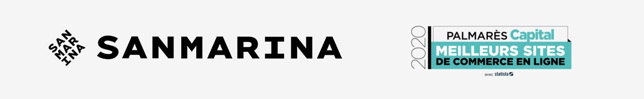 refonte du site de San Marina au classement Capital meilleurs sites ecommerce