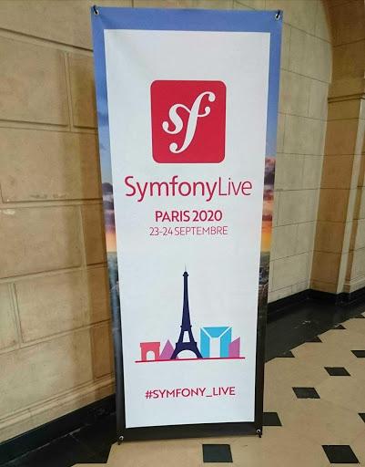 L'accueil au Symfony Live 2020