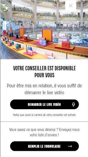 inscription pour l'exclusive life shopping des Galeries Lafayettes