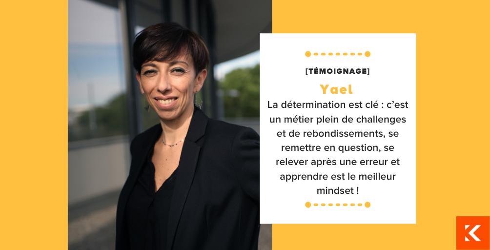 Rencontre avec Yael, Directrice de projets