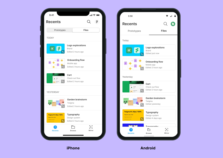 Figma Mobile App