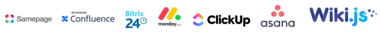 Solutions digital workplace logos